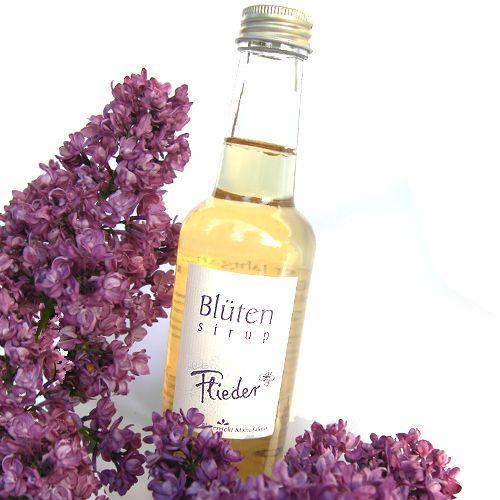 Bio-Blütensirup Fliederblüte