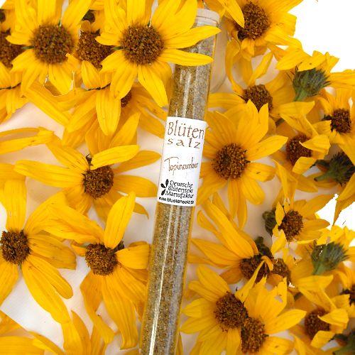 Bio-Blütensalz Topinamburblüte
