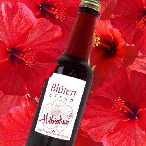 Bio-Blütensirup Hibiskusblüte