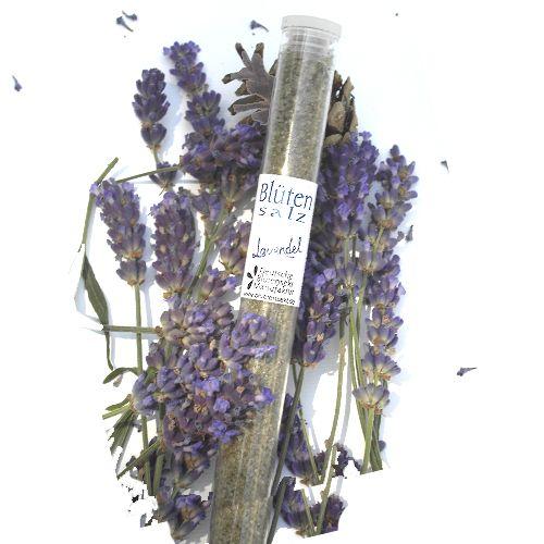 Bio-Blütensalz Lavendelblüte