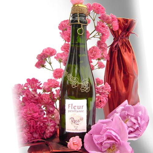 """Bio-Blütenschaumwein Rosenblüte 2007er """"Fleur pétillante brut"""""""