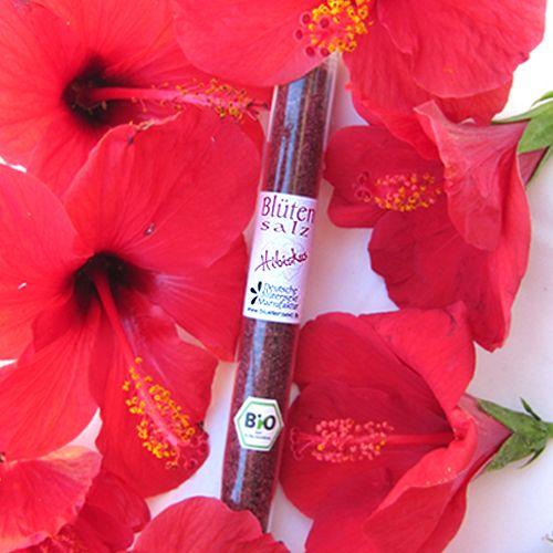 Bio-Blütensalz Hibiskusblüte