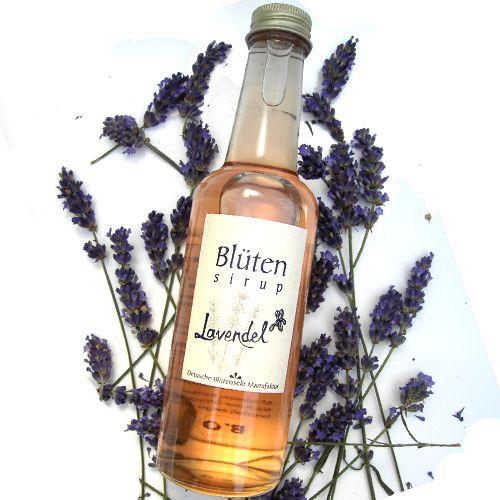Bio-Blütensirup Lavendelblüte