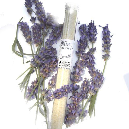 Bio-Blütenzucker Lavendelblüte