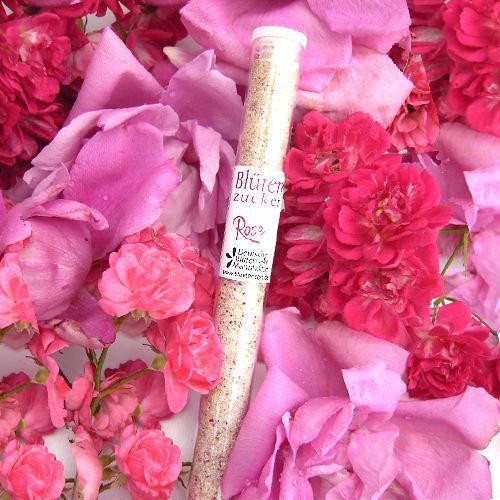 Bio-Blütenzucker Rosenblüte