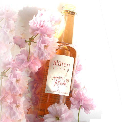 Bio-Blütensirup Kirschblüte, Japanische