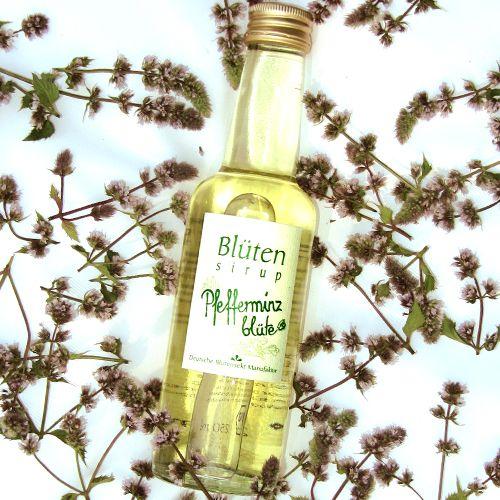 Bio-Blütensirup Pfefferminzblüte