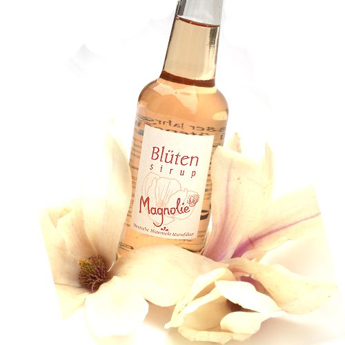 Bio-Blütensirup Magnolienblüte