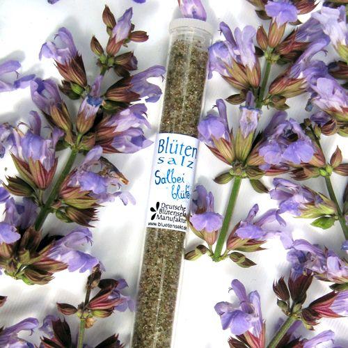 Bio-Blütensalz Salbeiblüte