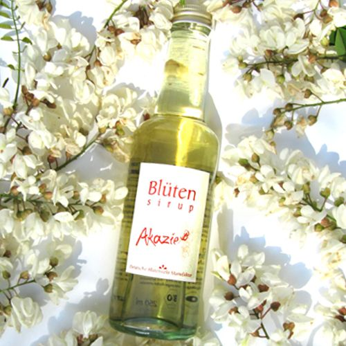 Bio-Blütensirup Akazienblüte